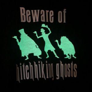 Tops - New Disney Haunted Mansion Glow in the Dark Shirt